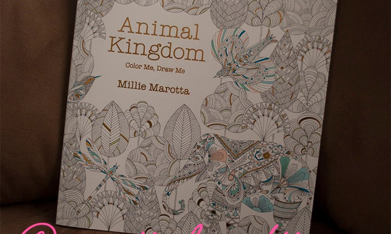 Adult Coloring Book - Millie Marotta - Animal Kingdom - Coloring Book Review