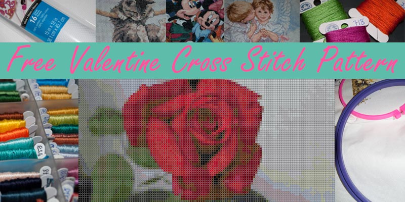 Valentine Cross Stitch Pattern
