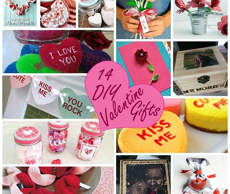 DIY Valentine Gifts – 14 Perfect Ones for You