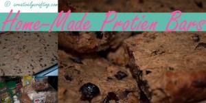 homemade protein bar recipes