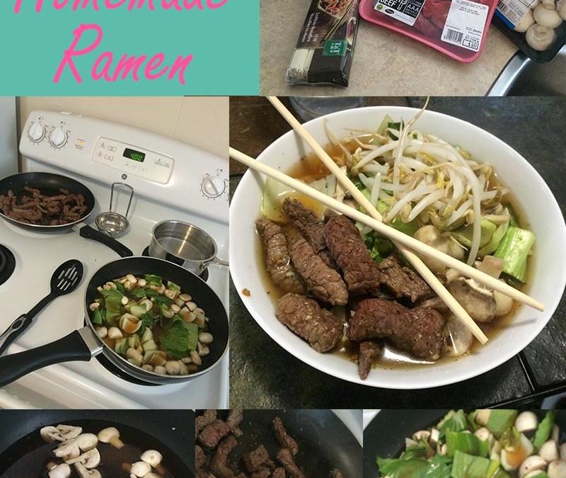 Easy Homemade Ramen