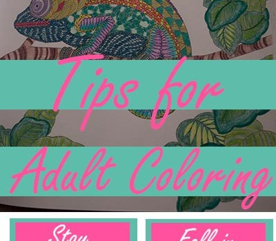Amazing Tips for Adult Coloring