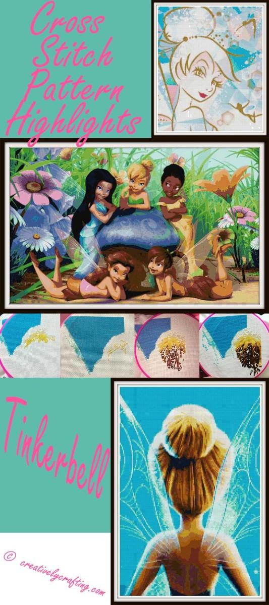 Tinkerbell Cross Stitch Patterns