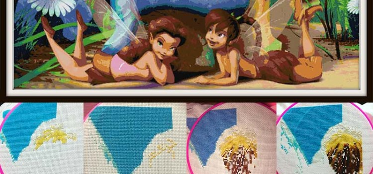 Tinkerbell Cross Stitch Patterns