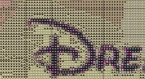 disney cross stitch pattern sample
