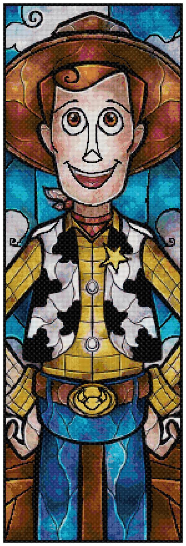 Woody Cross Stitch Pattern