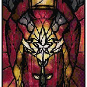 Mother Gothal Cross Stitch