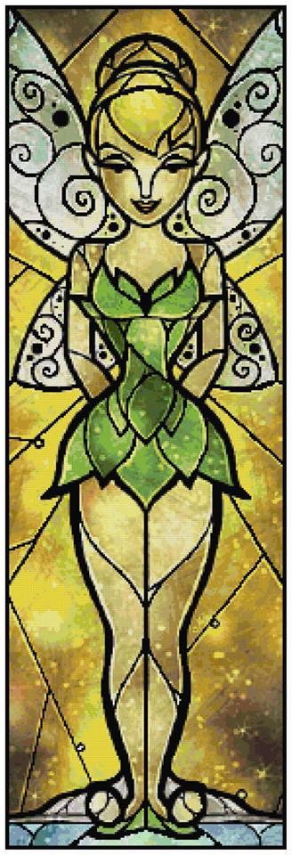 Tinkerbell Cross Stitch Pattern