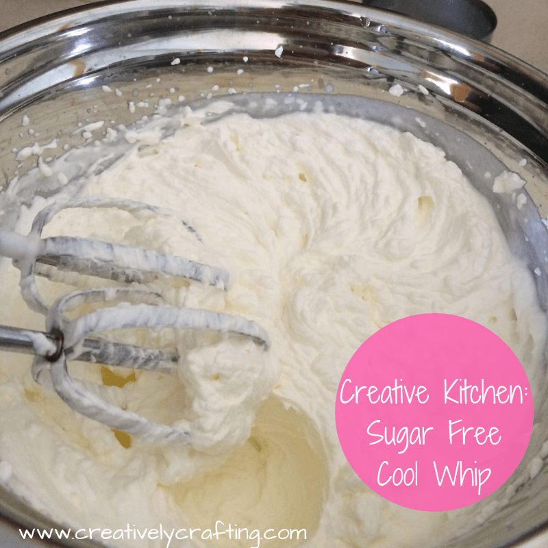 Still enjoy your whipped cream with this sugar free cool whip!
