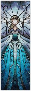 Elsa Cross Stitch Pattern