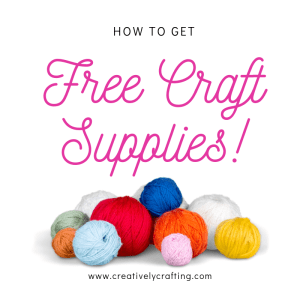 Free Craft Supplies and How to Get Them