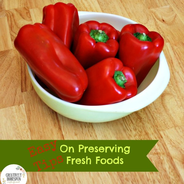 Preserving Fresh Foods: Teaching What Grandma Taught Me