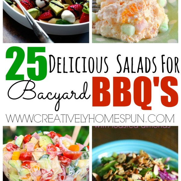 25 Delicious Salads for Backyard BBQ's