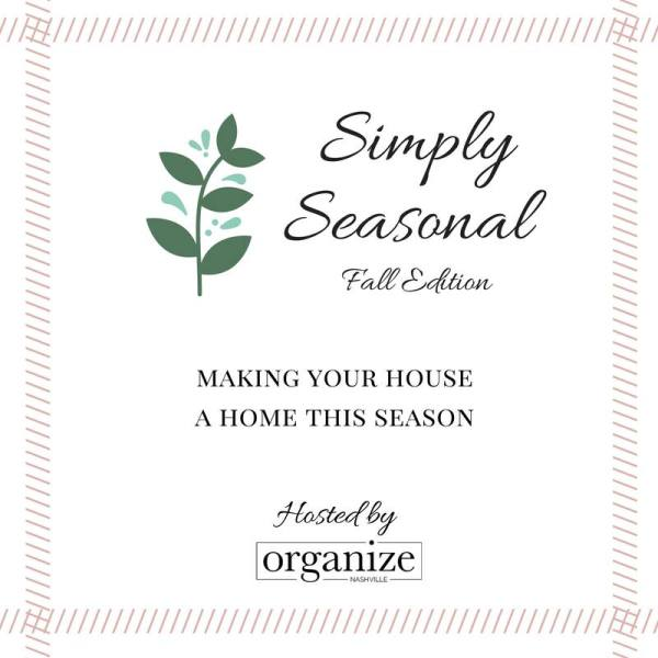Simply Seasonal Home Tour: Fall Edition