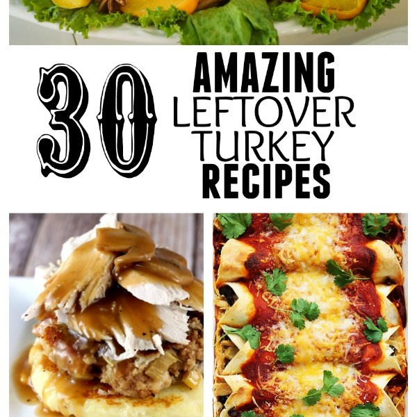 30 Amazing Leftover Turkey Recipes