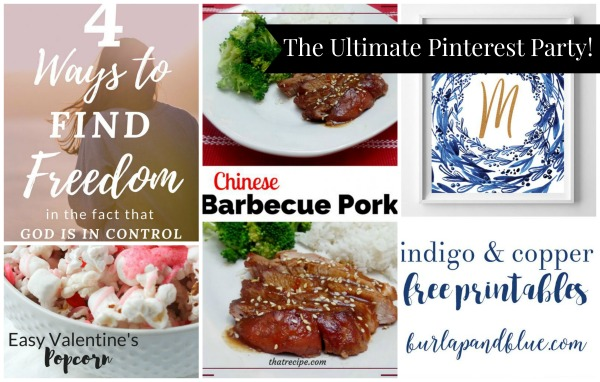 The Ultimate Pinterest Party, Week 134
