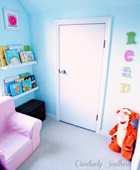 closet reading nook idea