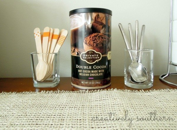 wooden washi tape spoons
