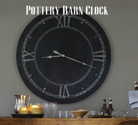 pottery-barn-clock