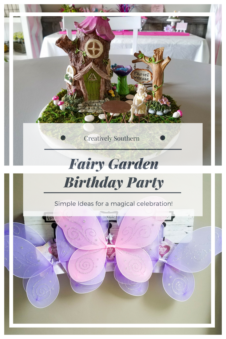 Fairy Garden Birthday Party Ideas Creatively Southern