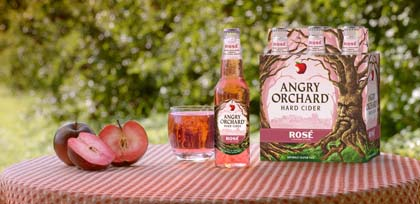 Angry Orchard Rosé Hard Cider Introduced