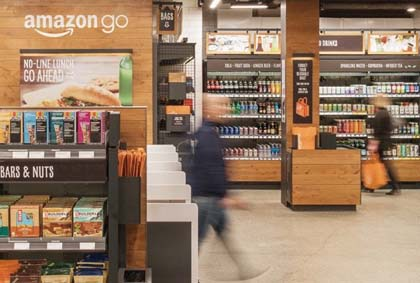 Amazon Go Store Features Advanced Shopping Technology