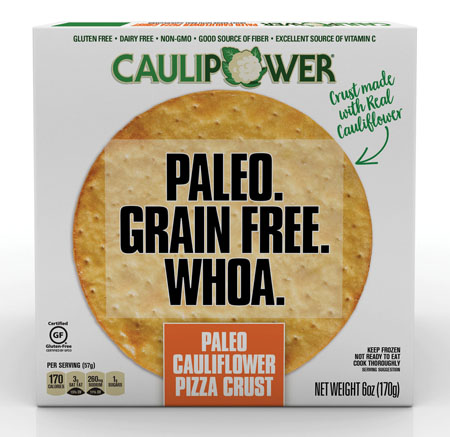 CAULIPOWER Launches Frozen Paleo Cauliflower Pizza Crust