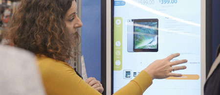Walmart Launches In-Store Kiosks