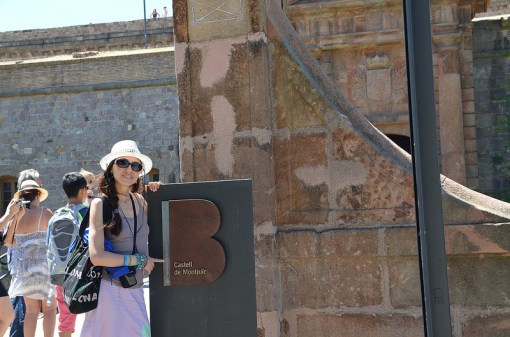 Montjuic Castle in Barcelona - photo captured on my trip this summer - http://creativemag.ro by Cristina Parus
