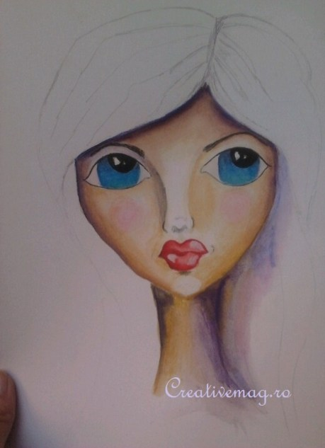 Facecinating my girl on CreativeMAG.ro by Cristina Parus