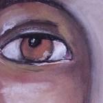 Portret in pasteluri cretate