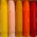 Art journaling 101: gel sticks de la Faber Castell