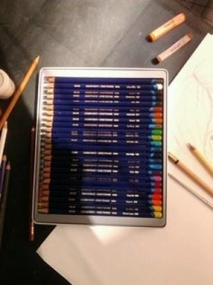 Derwent INKtense pencils @creativemag.ro