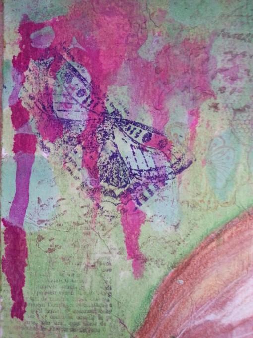 Profile on a tissue by Cristina Parus @ creativemag.ro