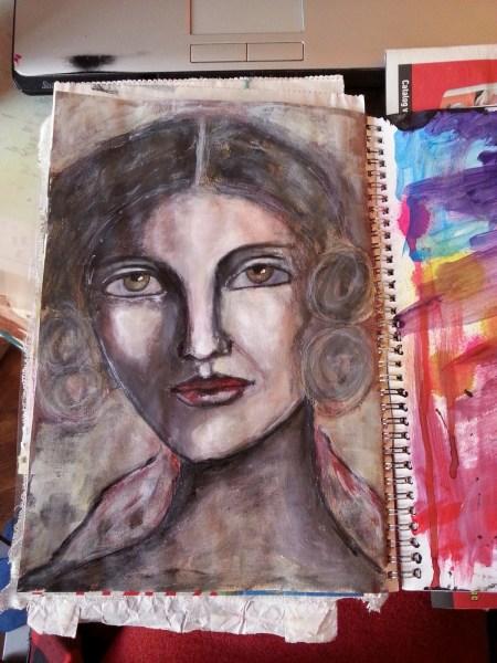 Vintage woman by Cristina Parus @ creativemag.ro