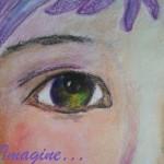 Portret in creioane colorate
