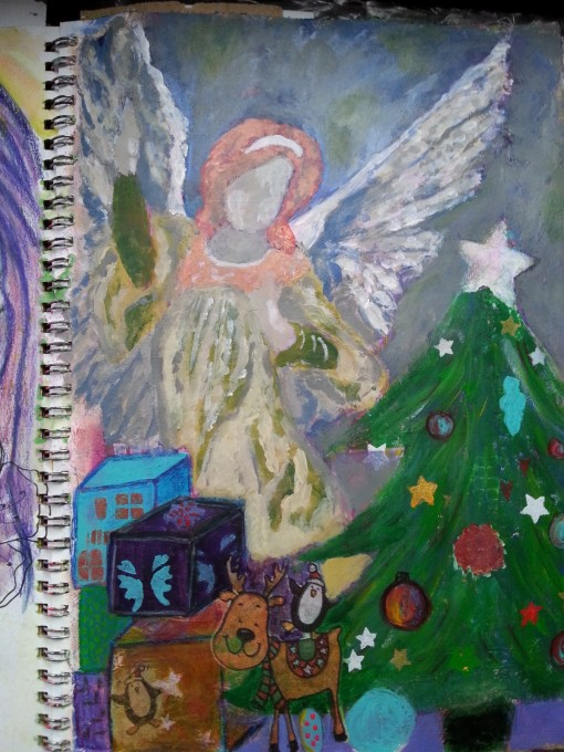 Christmas Angels by Cristina Parus @ creativemag.ro