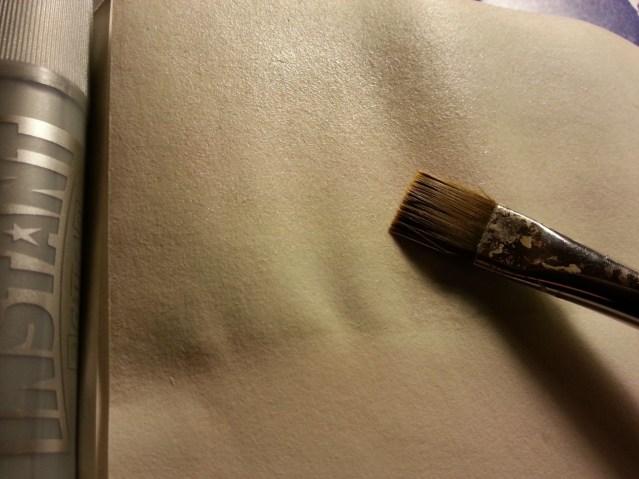 silver gliter PLAYCOLOR Solid Tempera stick @ creativemag.ro