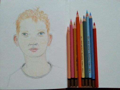 17/30 portrait challenge by Cristina Parus @ creativemag.ro