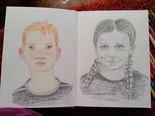 18/30 portrait challenge by Cristina Parus @ creativemag.ro