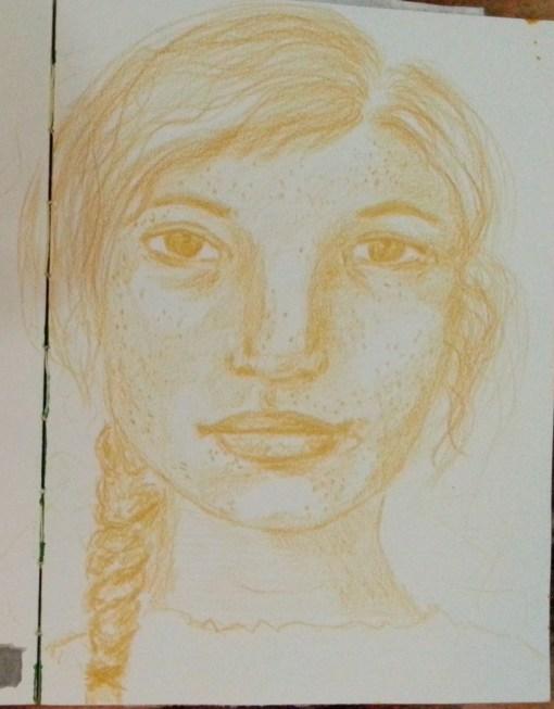 6/30 portrait challenge by Cristina Parus @ creativemag.ro