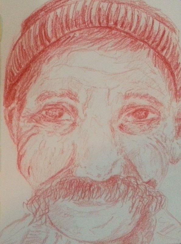 7/30 portrait challenge by Cristina Parus @ creativemag.ro