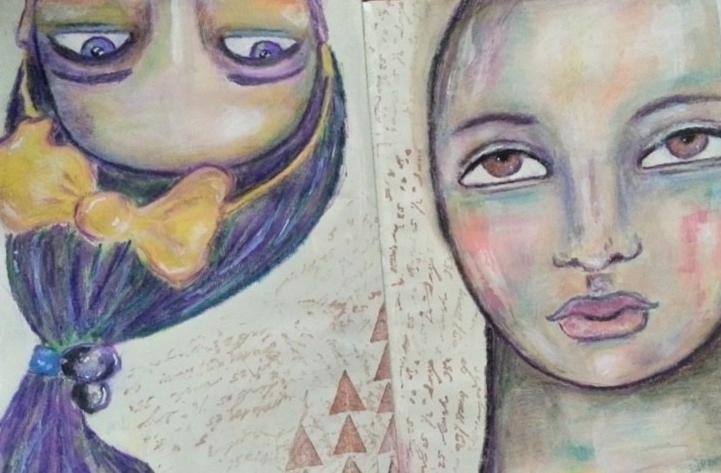 ALMOST APRIL by Cristina Parus @ creativemag.ro