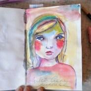 Pen Sketch by Cristina Parus @ creativemag.ro