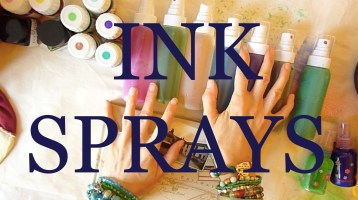 make your own ink sprays @ creativemag.ro