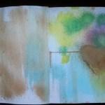 Derwent Art journal flip thought