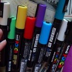 Posca Markers and Art Journaling
