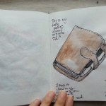 One sketch a day – daily planner