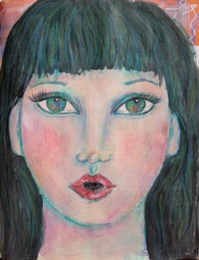 29 Faces September 2015 – Face #9 by Cristina Parus @ creativemag.ro