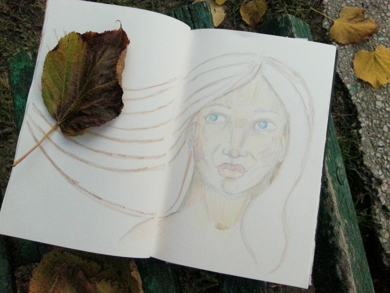 Painting in nature - by Cristina Parus @ creativemag.ro